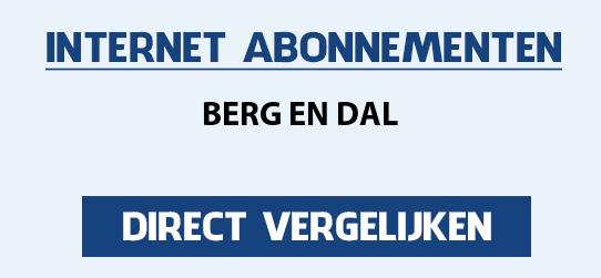 internet vergelijken berg-en-dal