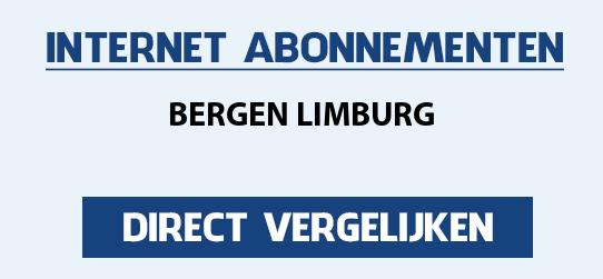 internet vergelijken bergen-limburg