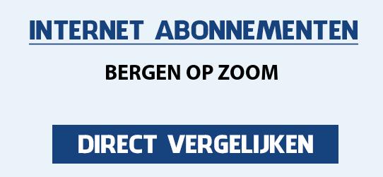 internet vergelijken bergen-op-zoom