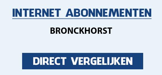 internet vergelijken bronckhorst