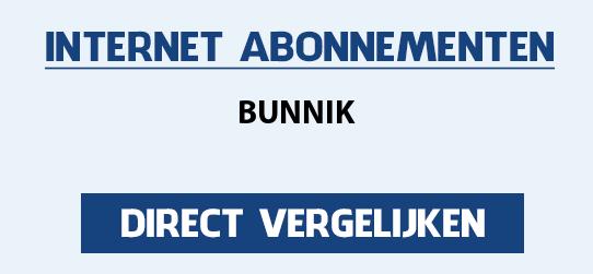 internet vergelijken bunnik