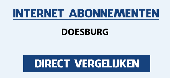 internet vergelijken doesburg