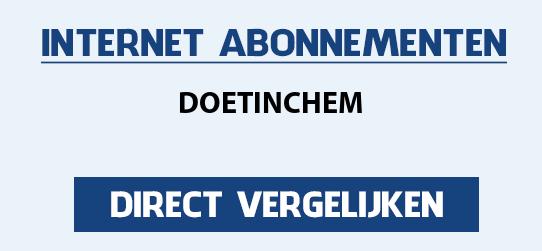 internet vergelijken doetinchem