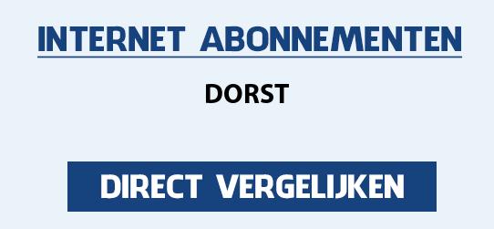 internet vergelijken dorst