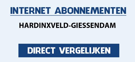 internet vergelijken hardinxveld-giessendam