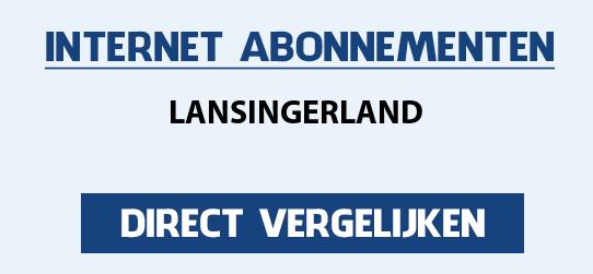 internet vergelijken lansingerland