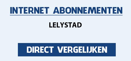 internet vergelijken lelystad