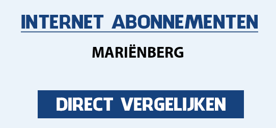 internet vergelijken marienberg