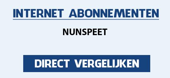 internet vergelijken nunspeet