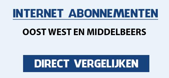 internet vergelijken oost-west-en-middelbeers