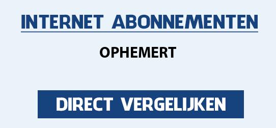 internet vergelijken ophemert
