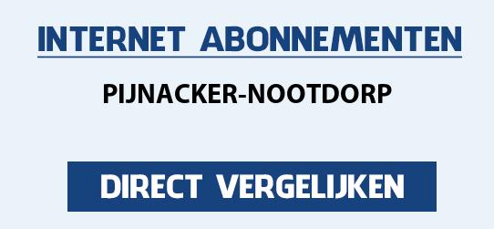 internet vergelijken pijnacker-nootdorp