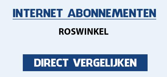 internet vergelijken roswinkel