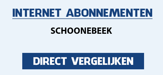 internet vergelijken schoonebeek
