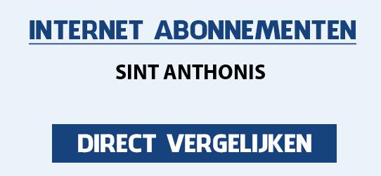 internet vergelijken sint-anthonis