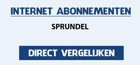 internet vergelijken sprundel