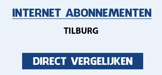 internet vergelijken tilburg
