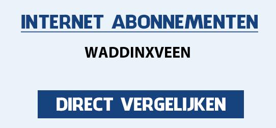 internet vergelijken waddinxveen