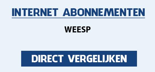 internet vergelijken weesp