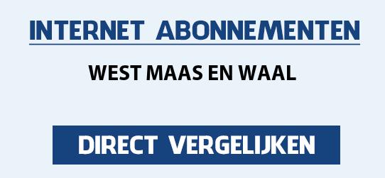 internet vergelijken west-maas-en-waal