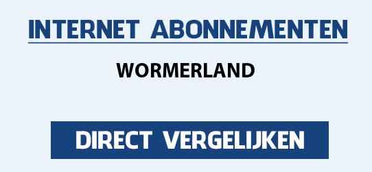 internet vergelijken wormerland