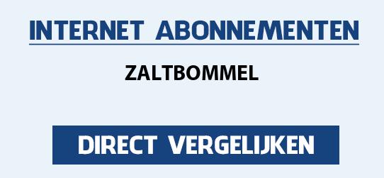 internet vergelijken zaltbommel