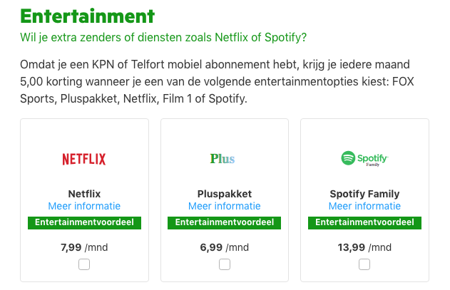 stap 6 - entertainment kiezen